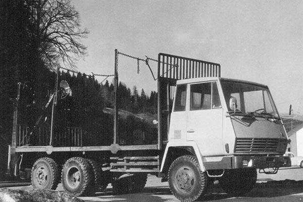LKW Schafferholz - Geschichtsfoto