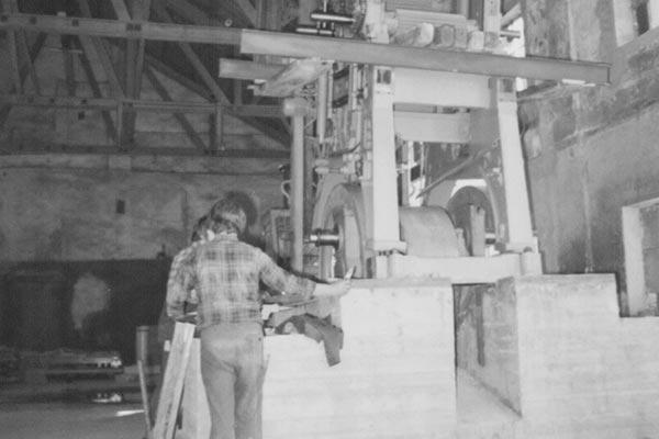 Sägewerk Schafferholz von früher
