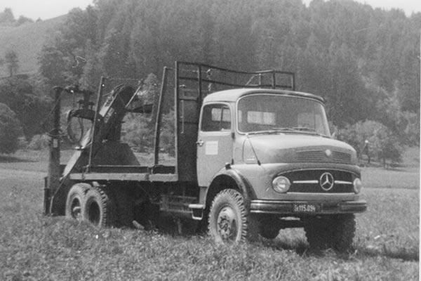 LKW Firma Schafferholz von früher